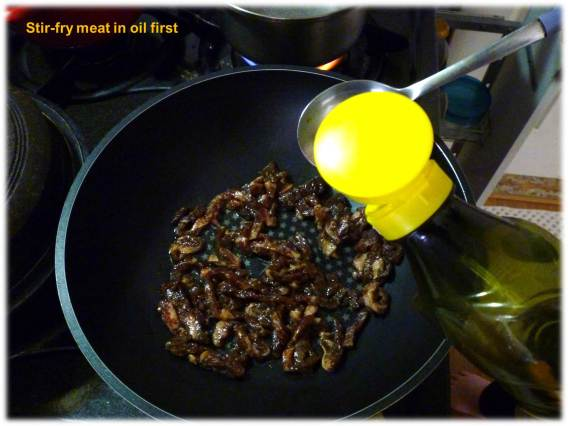 3 stir fry meat