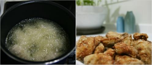2 frying wings
