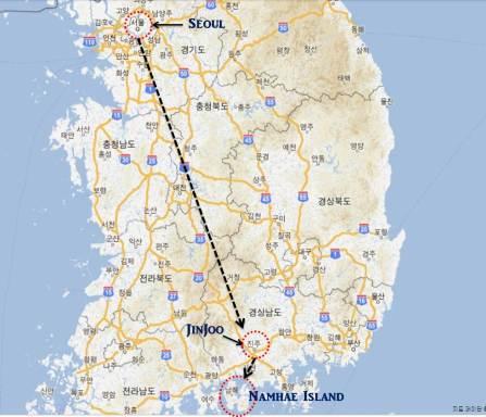서울-진주-남해
