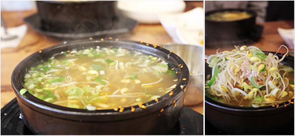 콩나물 국밥_완성