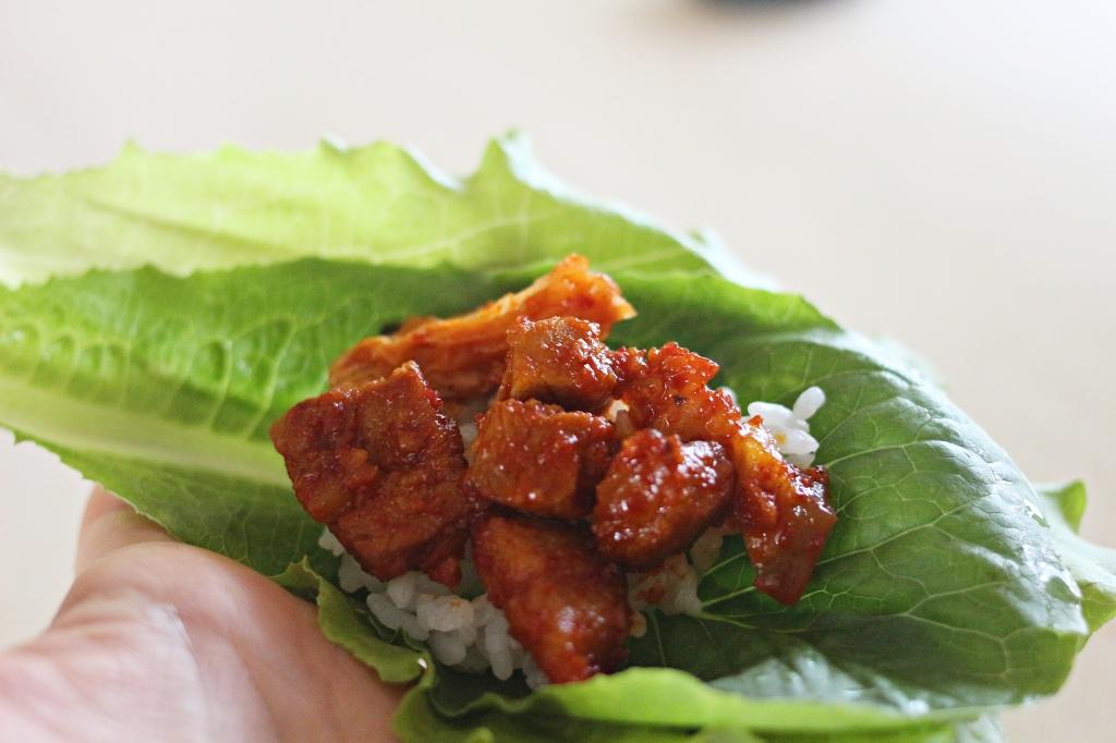 Pork Belly Gochujang Rice Cake